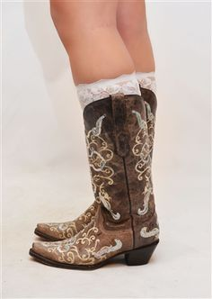 Lace Boot Cuff Only $9.99