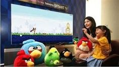 Angry Birds llega a las Smart TV de Samsung en España http://www.europapress.es/portaltic/videojuegos/noticia-angry-birds-llega-smart-tv-samsung-espana-20120719083008.html