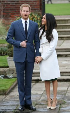 Newly Engaged!! Prince Harry and Meghan Markle