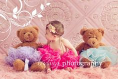 Baby, tutus, and Bears! Baby L, Baby Kind, My Baby Girl, Toddler Pictures, Newborn Pictures, Baby Pictures, 9 Month Olds, Baby Month By Month, Toddler Photography