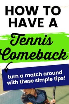 If you are losing a tennis match try these simple tips to turn it around. Tennis is a very mental game and if you can change your thinking you will become a better tennis player and win more tennis matches. Tennis Bag, Tennis Match, Tennis Tips, Your Strengths And Weaknesses, Positive Outlook, Change Is Good, Tennis Players, Talking To You, Comebacks