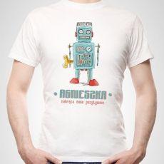 Koszulka personalizowana męska NAKRĘCONY idealny na urodziny