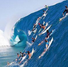 Big blue Crush extreme~