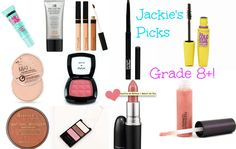 Grade 8 + Makeup starter kit with mostly drugstore products!
