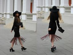 Mohito Bag, Zara Heels, Vero Moda Blouse, Made By Me Skirt