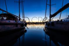 Life at the port | Buy and download this image take during a sunset in a port. Dim. File: 3000 × 2000 px