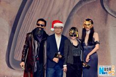 "Director Fan Jianhui's ""Who is Undercover"" starring Lin Chiling, Tony Leung, Gillian Chung, Vivian Wu and Christopher Lee premiered in Beijing on December 22, 2014"