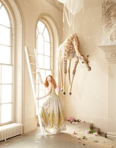 Lucia Giacani Creates a Whimsical World for Harrods Magazine #fashion trendhunter.com