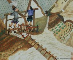 """相约杭州""中国儿童插画师,蔡皋老师 - ""相约杭州""中国插画师的文集 - 博客(聚艺厅) - 艺术国际 Artintern.net CAI GAO Gao, Illustrators, Asia, Painting, Visual Arts, Painting Art, Paintings, Paint, Draw"