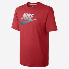 Camiseta Nike Men s Nike Fad Futura Challenge Red Dark Grey  Camiseta  Nike fe1939abba0f8