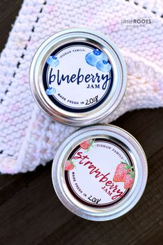 Custom Canning Labels Personalized Kitchen Labels 2 /& 2.5 round stickers Choose Colors Organic Labels Jam Labels