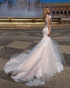 Vestido de noiva modelo Sereia para você se inspirar