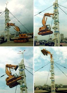 There are heavy equipment operators and then there's this guy :)
