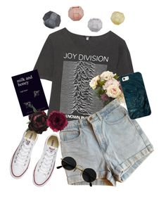 """""""Untitled #86"""" by supervxlerie on Polyvore featuring R13, American Apparel, Casetify, Converse, Abigail Ahern, Accessorize and Tom Dixon"""