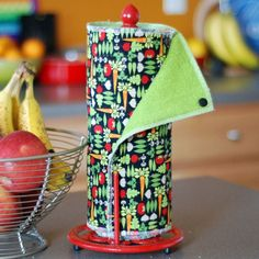 Tree Saver Towels - From My Garden - Reusable, Eco-Friendly, Snapping Paper Towel Set