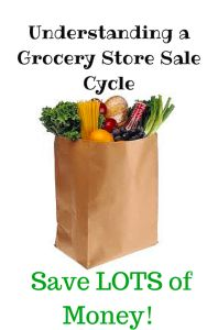 How to save money by understanding grocery store sale cycles.