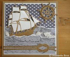 6vb - Groot Nautical Cards, Nautical Theme, Boy Cards, Cute Cards, Scrapbook Supplies, Scrapbook Cards, Scrapbooking, Crafters Companion Cards, Beach Cards