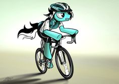 Cycle Pony - Commission for LateMetal by Dori-to.deviantart.com on @deviantART