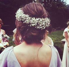 Gorgeous hair & floral crowns