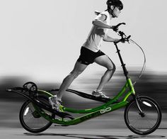 Outdoor Elliptical Bike http://itblowsmymind.net/outdoor-elliptical-bike/  Get a fun and vigorous cardiovascular workout by hopping on this outdoor elliptical bike. The unique design lets you move forward without any harmful impact on your joints while also allowing you toeasily climb up any street or hill.  #bike #ItBlowsMyMind