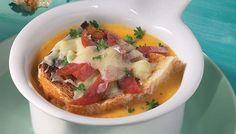 Potage de patates douces au gratin | Recettes IGA
