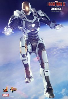 Hot Toys' Iron Man 3 Mark XXXIX Starboost 1/6 Scale Collectible Action Figure