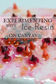 Ice Resin is not just for jewelry. use it in your mixed media art, on… 3d Type, Type Art, Types Of Art, Mixed Media Collage, Collage Art, Abstract Paintings, Abstract Art, Ice Resin, Fabric Embellishment