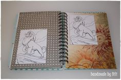 Copic marker journal