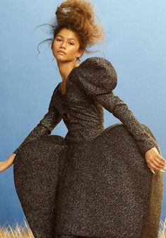 Christian Siriano Fall 2020 RTW Seen on Zendaya for Vogue Hong Kong -Ask and Tell1966 Magazine Hey Gorgeous, Black Celebrities, Gal Pal, Christian Siriano, Zendaya, New York Fashion, Divas, Hong Kong, Celebrity Style