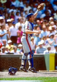 Gary Carter.  He was the nicest guy. We met him at spring training in Pt. St. Lucie.