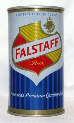 FALSTAFF BEER , ST LOUIS MO 》mid 60's ( $3,500 ) Beer Can Collection, Feeling Minnesota, Old Beer Cans, I Like Beer, Beer Day, Beers Of The World, Beer Brands, Vintage Packaging, Beer Labels