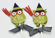 t-whooo cute! Halloween Owl - punch map for this and several other cute projects included