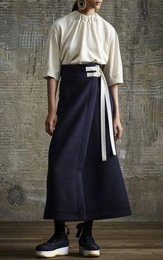 Wrap Effect Skirt by MARNI for Preorder on Moda Operandi