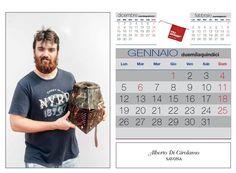 Gennaio: ...un elmo da battaglia realizzato da Alberto Di Girolamo di Savona....che sia per combatter il freddo di inizio anno???? Ph. Foto Studio Azais - Finale Ligure