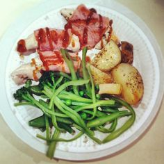 Photo by healthspecific Healthy Food, Healthy Recipes, Green Beans, Meal Planning, Meals, Chicken, Vegetables, Cooking, Health Foods