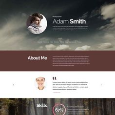 Drupal Template for Pro Photographer Website