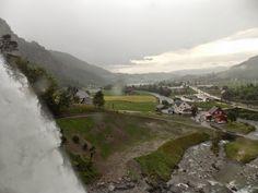 Norway Blog - Waterfall in Norheimsund