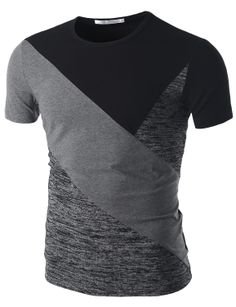 a6e08c01d Doublju Short Sleeve T-Shirt (CMTTS038)  doublju Ropa Juvenil Hombre