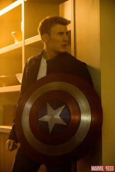 Cap Prepares For the Winter Soldier in New Movie Image #CaptainAmerica #TheWinterSoldier - in theaters 4-4-14!