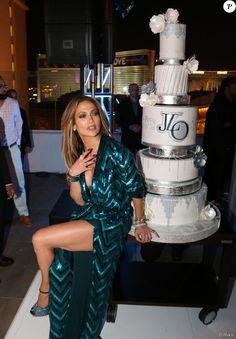 Jennifer Lopez fête ses 47 ans au Caesars Palace à Las Vegas. Le 24 juillet 2016.