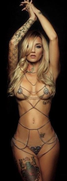 ☘ Beautiful Tattoos For Women, Gorgeous Women, Simply Beautiful, Sexy Tattoos, Girl Tattoos, Tattoo Girls, Thing 1, Model Look, Best Lingerie