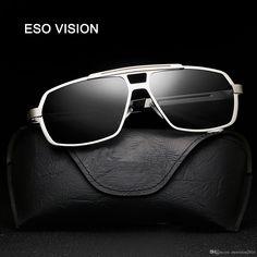 0e9a5f98e16 HDCRAFTER Polarized mens sunglasses brand designer 2017 retro Vintage  Eyewear Accessories Sun Glasses For Men shades