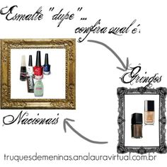 """""""Esmalte dupe"""" by truquesdemeninas on Polyvore"""