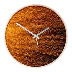 Colorful lightwave abstract texture Wall Clock> Abstract light wave texture> Victory Ink Tshirts and Gifts