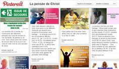 """Adopte le """"VISION BOARD"""" la Pensée de Christ et reste motivé toute l'année avec la parole de Dieu"""