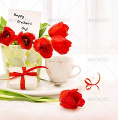 Happy mothers day ...  background, beautiful, beverage, birthday, bloom, blossom, border, bouquet, box, breakfast, card, celebration, coffee, cup, day, decor, decoration, decorative, drink, floral, flower, flowers, food, gift, giftbox, greeting, happy, holiday, home, indoor, interior, life, love, morning, mothers, paper, pot, present, red, ribbon, romantic, room, spring, still, table, tea, tulip, tulips, vase, white