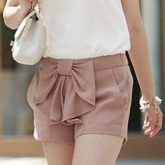 love these chiffon shorts