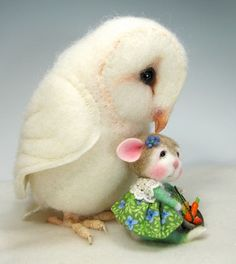 Needle Felted Animal Tutorial / Needle Felted Pattern by barby303