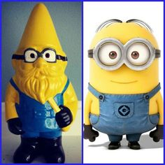 Minion Gnome. It's on my Doctor Who page because I totally thought it was an ood at first.
