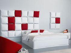 Testiera letto con cuscini